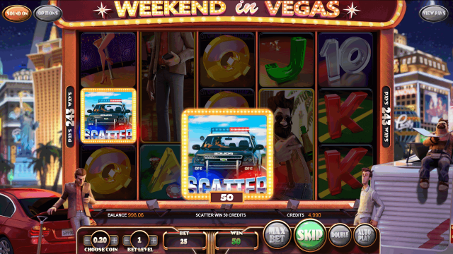 Онлайн слот Weekend In Vegas