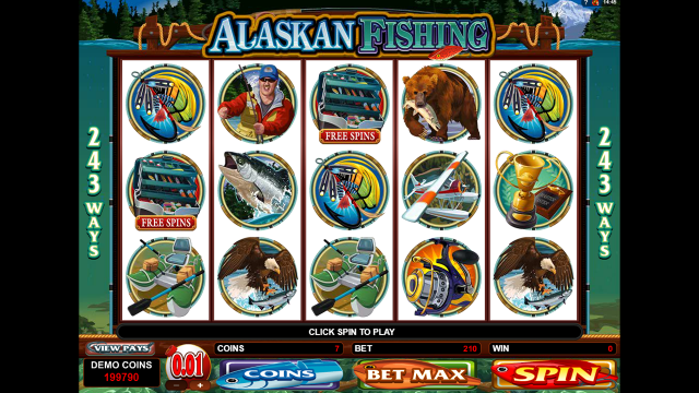 Онлайн аппарат Alaskan Fishing