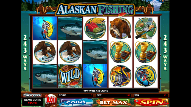 Онлайн автомат Alaskan Fishing