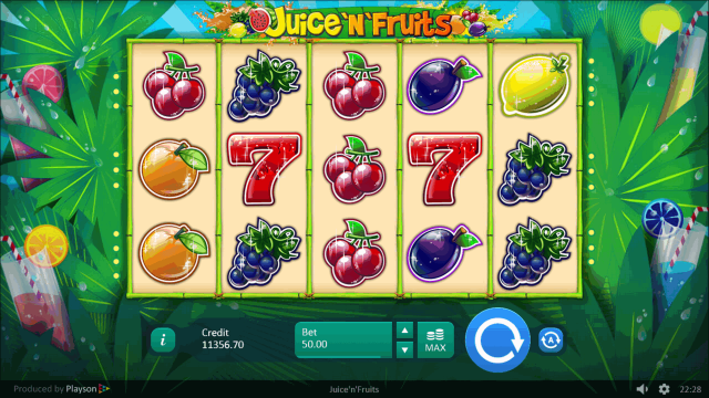 Онлайн слот Juice 'N' Fruits